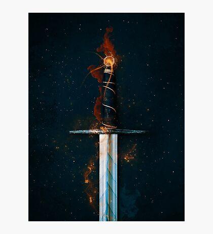 Magic Sword No 1 Photographic Print