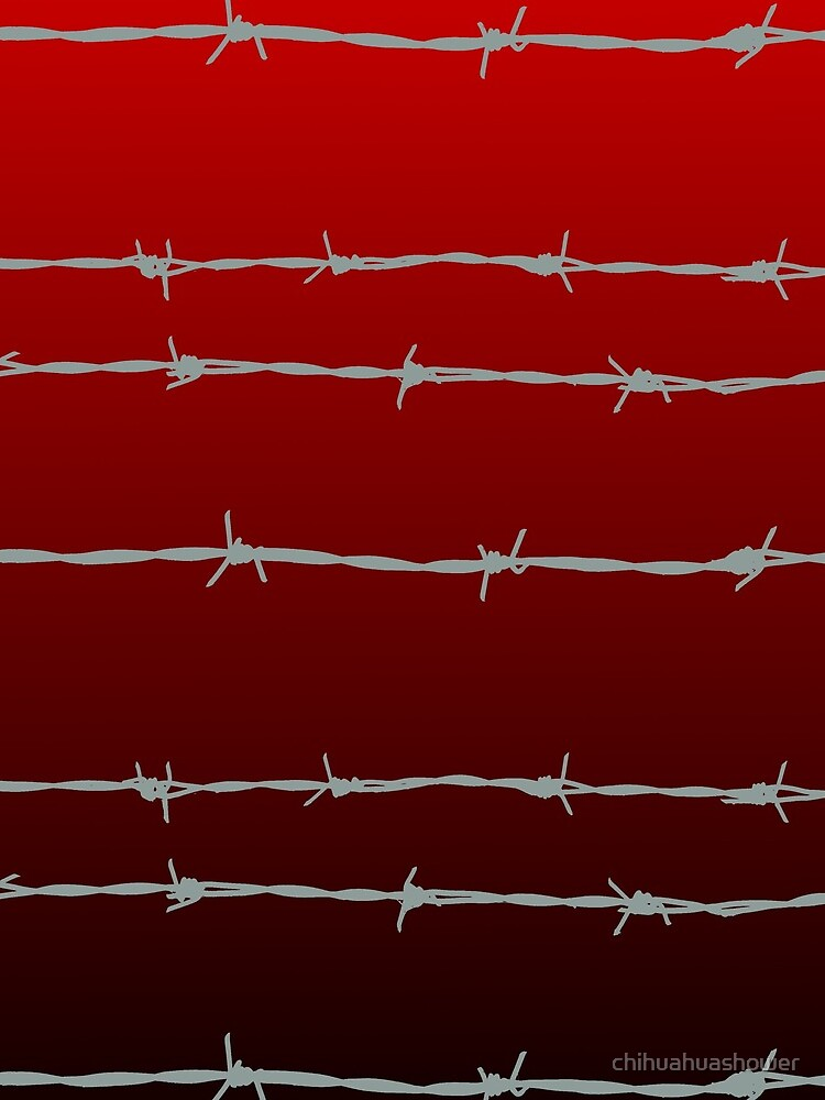 Ombre barb wire by chihuahuashower