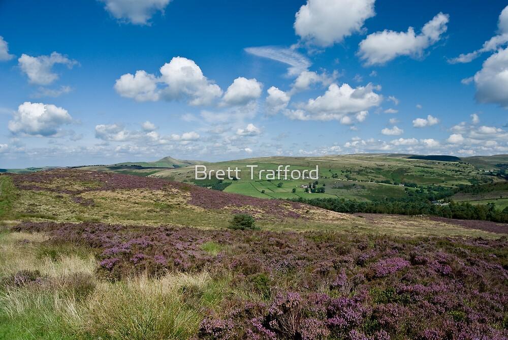 Moorland view by Brett Trafford