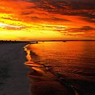 Sunset at Busselton by JuliaKHarwood