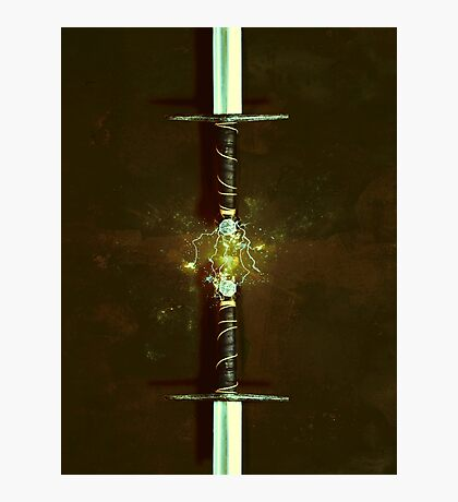 Magic Sword No 4 Photographic Print