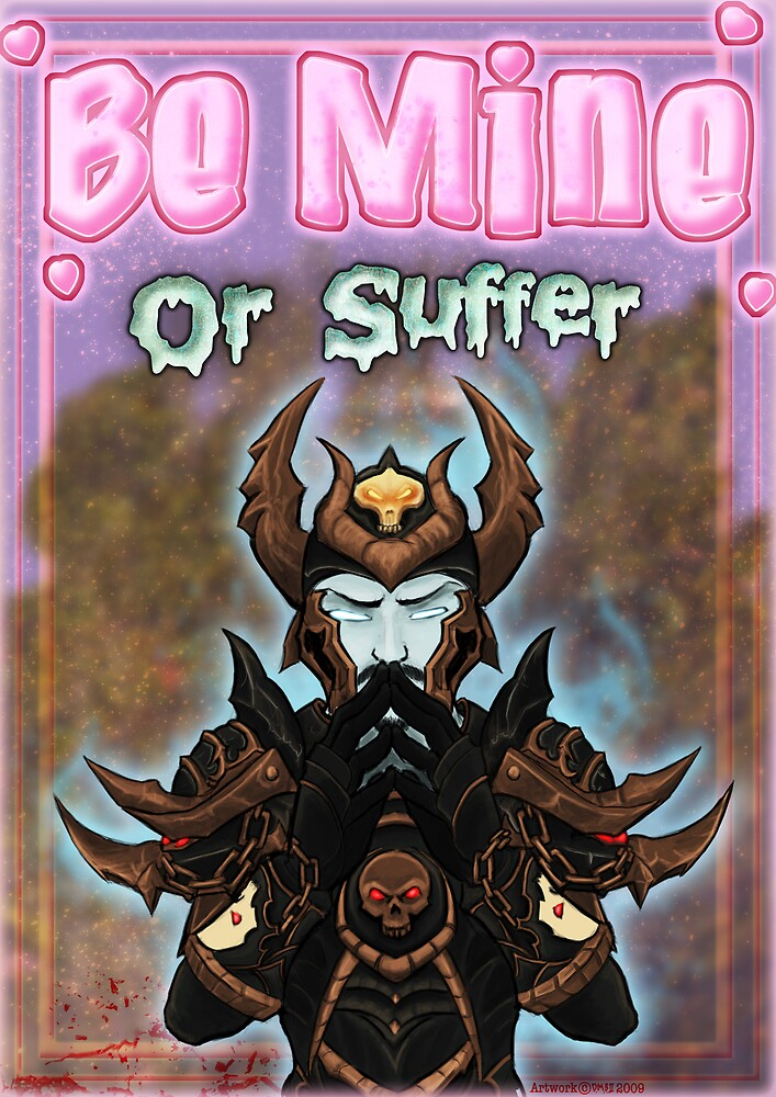 Be Mine... Or Suffer by devillo