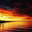 Walking together enjoying the sunset by JuliaKHarwood