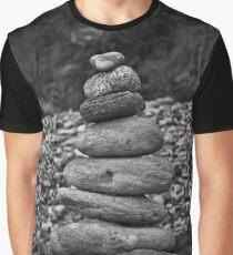 Geological Balance Graphic T-Shirt