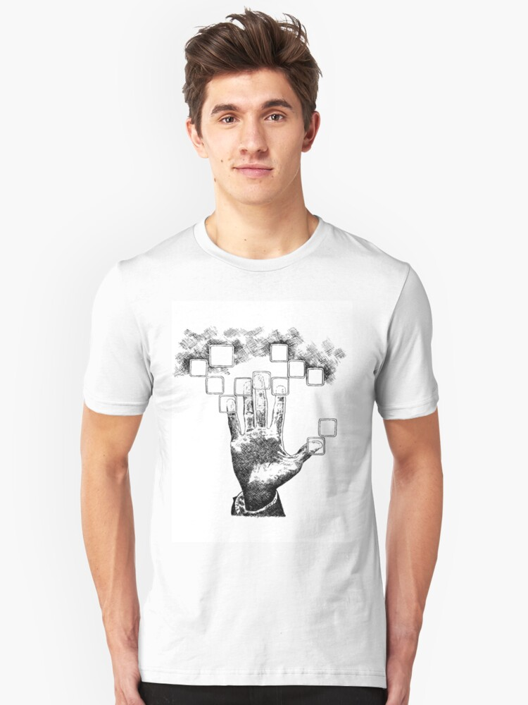 Touch The Future Unisex T-Shirt Front