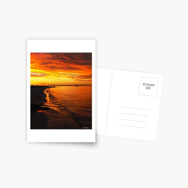 Firey Sky Postcard