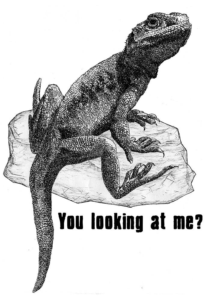 Mr Di Nero's Lizard by robertemerald