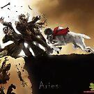 The Zombie Zodiac - Aries by thedarkcloak
