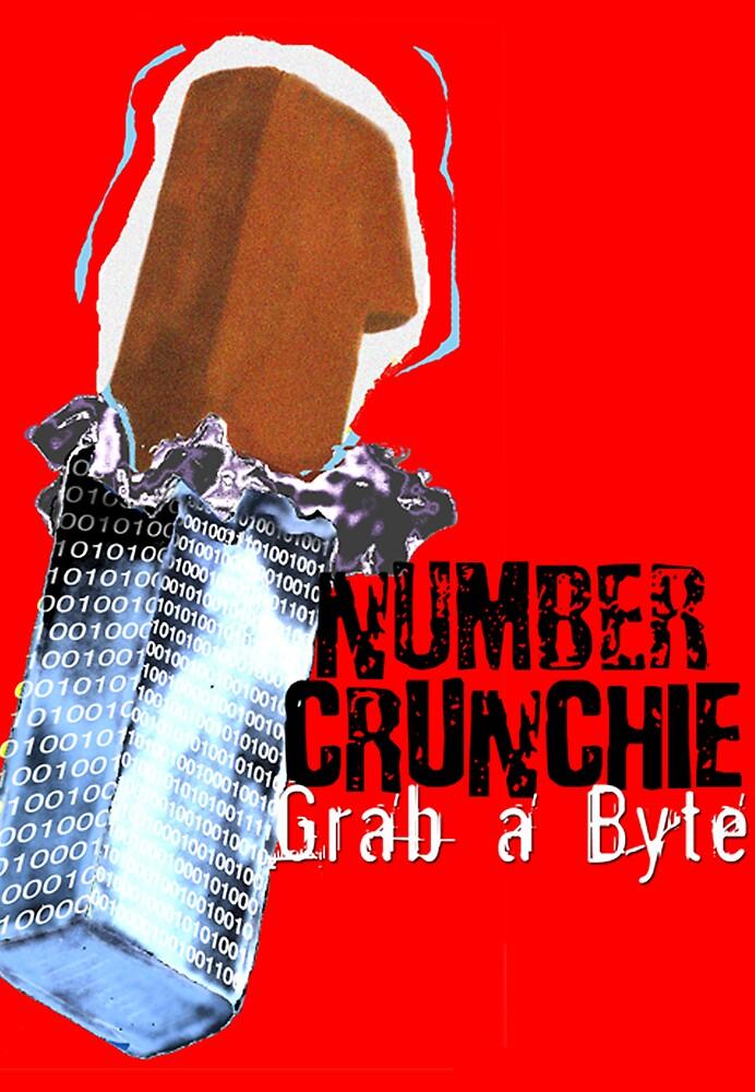 Number Crunchy by robertemerald
