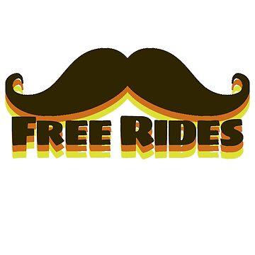 Mustache Rides by underscorepound