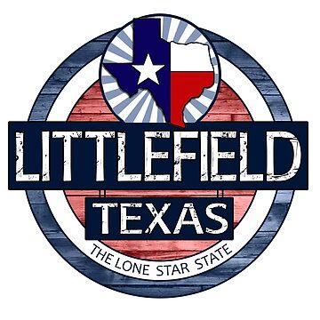 Littlefield Texas rustic wood circle by artisticattitud