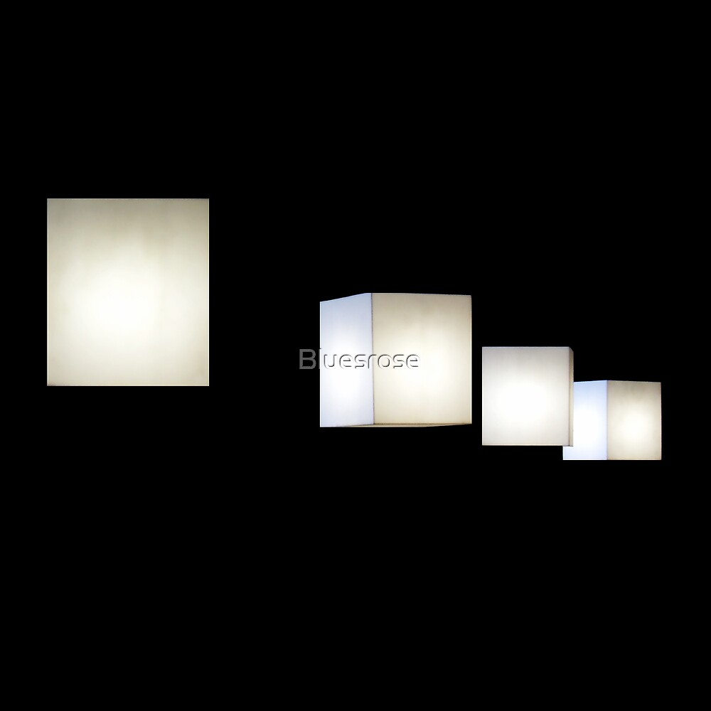 Cube lamps by Bluesrose