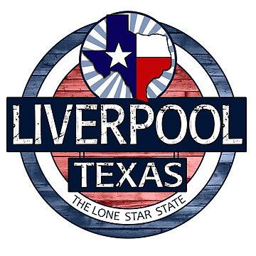 Liverpool Texas rustic wood circle by artisticattitud