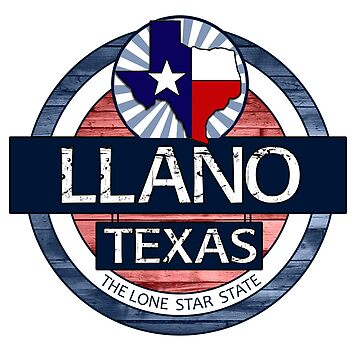 Llano Texas rustic wood circle by artisticattitud