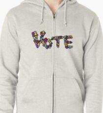 Vote Zipped Hoodie
