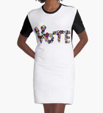 Vote Graphic T-Shirt Dress