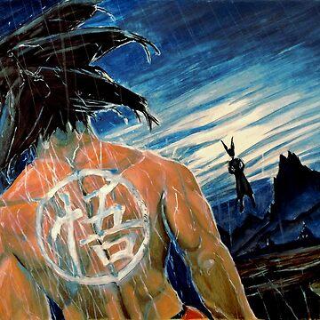Fighting Goku by dgtutt89