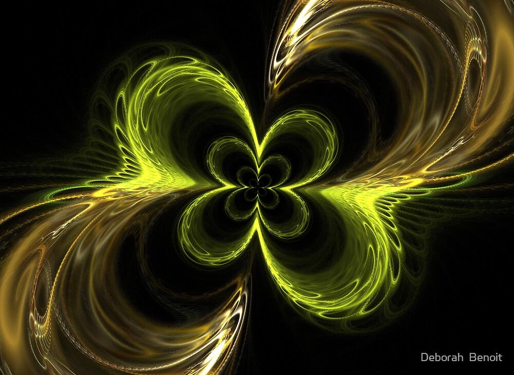 Four Leaf Clover by Deborah  Benoit