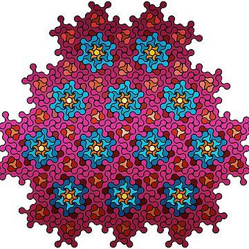 Flower pattern by Girih