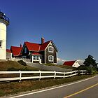 Nobska Point Lighthouse by Poete100