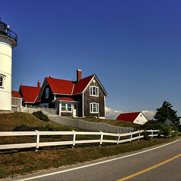 Nobska Point Lighthouse by Poete100