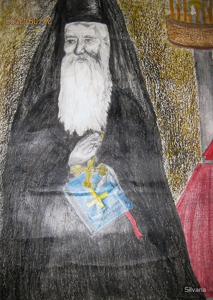 Orthodox Priest by Silvana