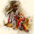 Native Dancer at Rest by rhamm