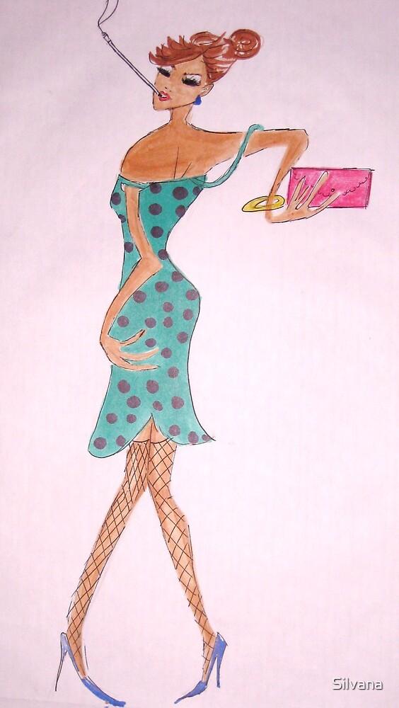 Parisian Fashionista by Silvana