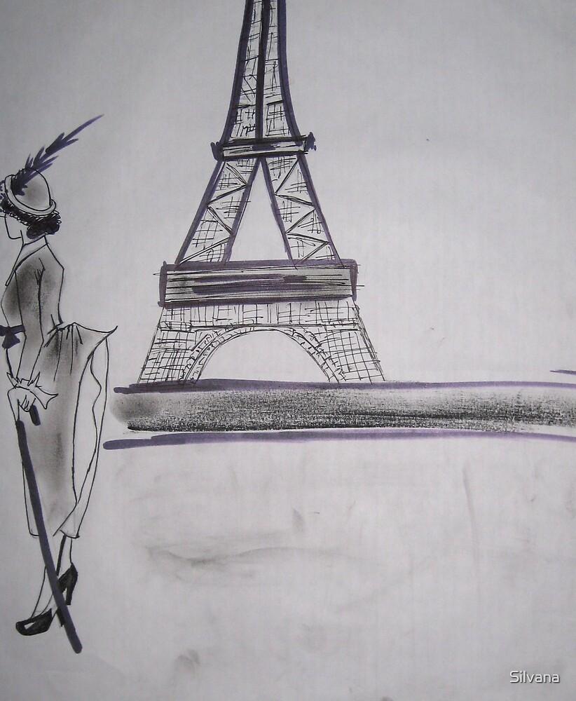 Parisian Stroll by Silvana