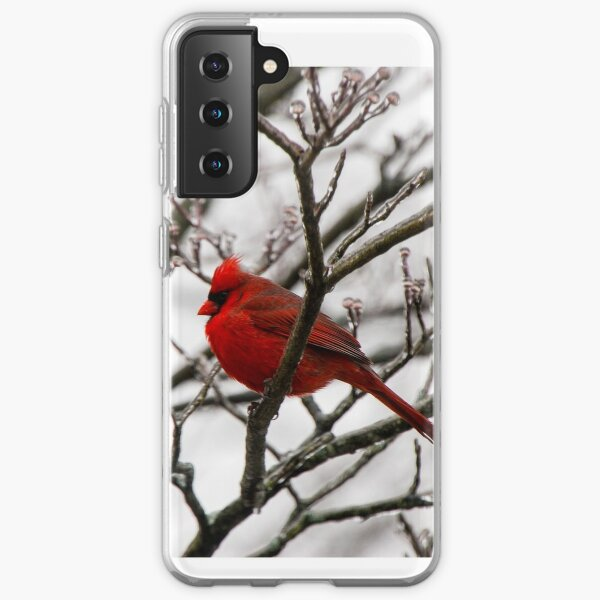 Winter Cardinal - Icy Tree Samsung Galaxy Soft Case