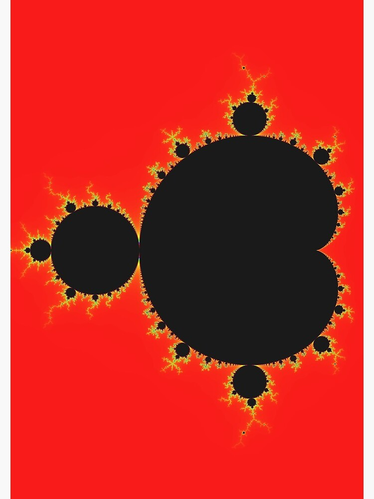 Simple Mandelbrot  by rupertrussell