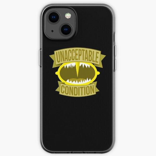Unacceptable Condition iPhone Soft Case
