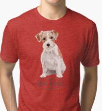 Jack Russell Terrier Tri-blend T-Shirt
