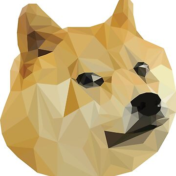 Low Polygon Doge by Vorpalized