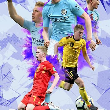 Kevin de Bruyne - Manchester City Poster by NIKOisCREATING