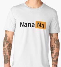 BLACK NANANA PORNHUB Men's Premium T-Shirt