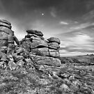 Hound Tor by Richard Garvey-Williams