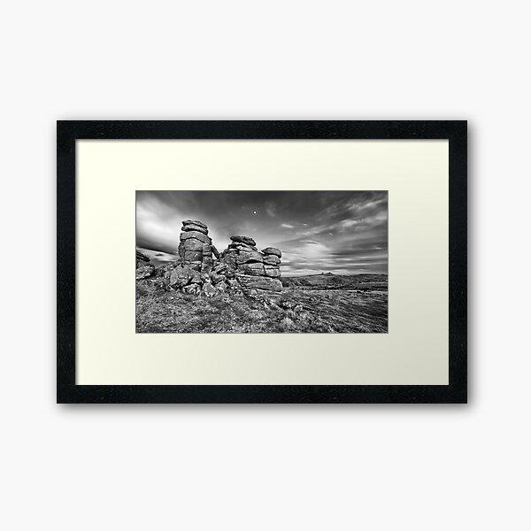 Hound Tor Framed Art Print