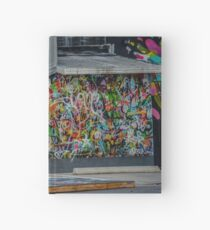 Behind the Curtain Hardcover Journal