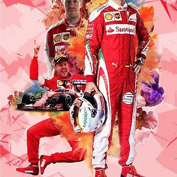 Sebastian Vettel - Formula 1 by NIKOisCREATING