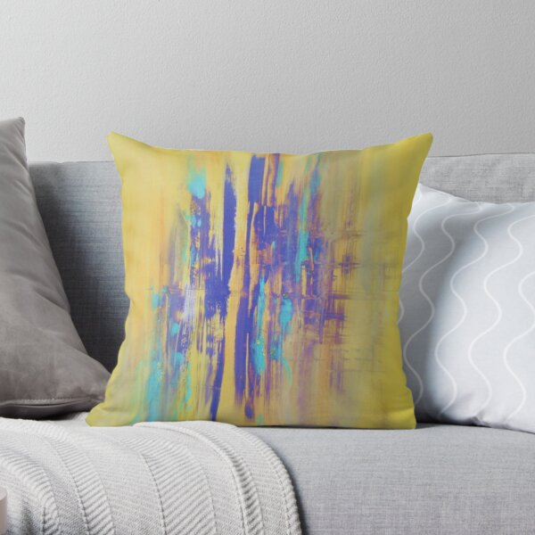 TIME AND REFLECTION Throw Pillow