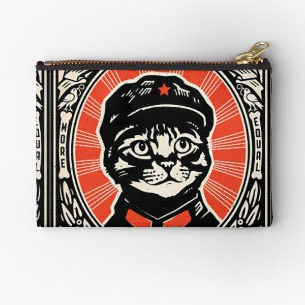 Chairman Meow - Kittens of the world unite | Meow Tse Tung Zipper Pouch