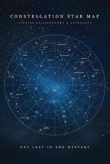 Sternbild-Sternkarte von coffeewithmilk