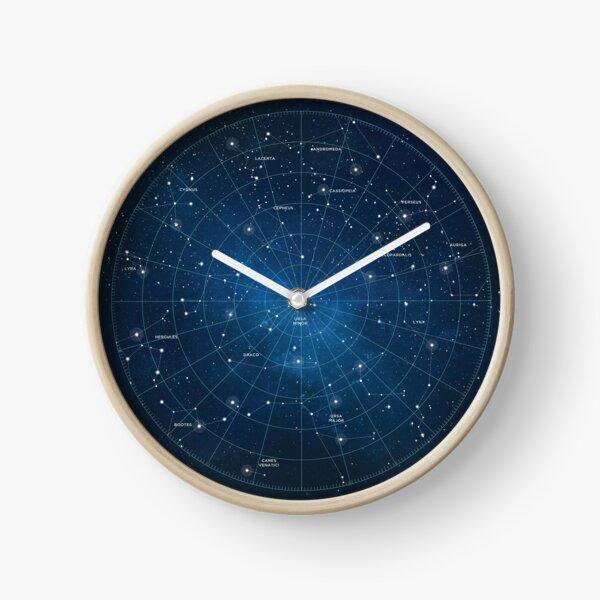 Constellation Star Map Clock