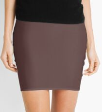 Dark Brown Granite Fashion Color Trends Spring Summer 2019 Mini Skirt