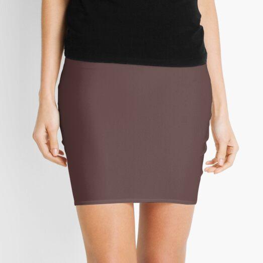 Dark Brown Granite Fashion Color Trends Spring Summer 2019 Mini Skirt