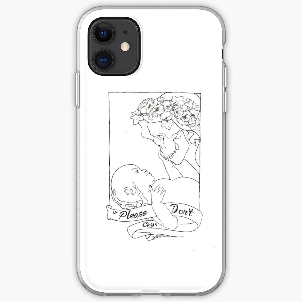Please Don't Cry  iPhone Case & Cover