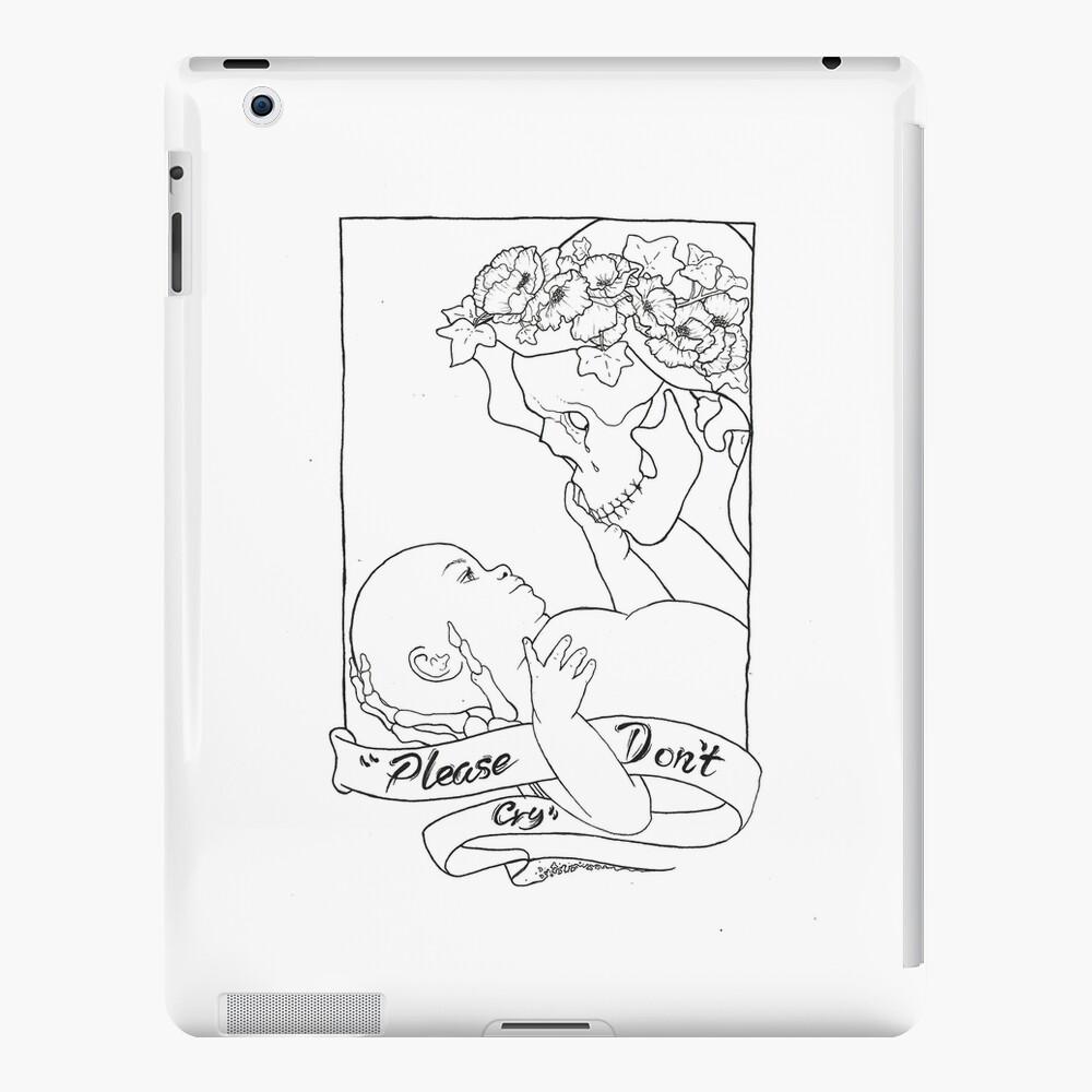 Please Don't Cry  iPad Case & Skin