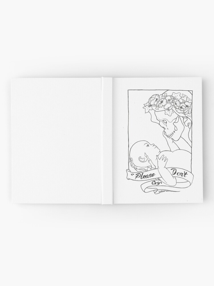 Alternate view of Please Don't Cry  Hardcover Journal