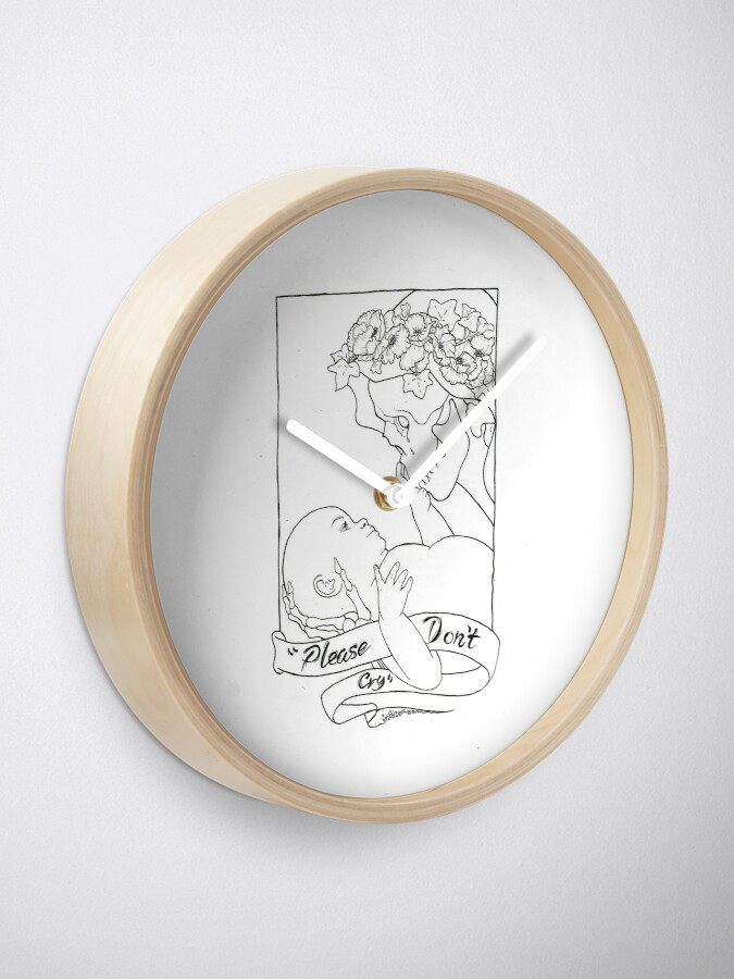 Alternate view of Please Don't Cry  Clock